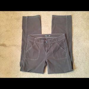 "Women's Prana Pant Brown Size 10 x 31"" Inseam"